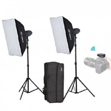 Набор студийного света Visico VL-400 Plus Softbox KIT